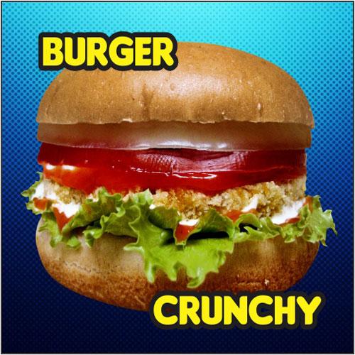 Burger-Crunchy