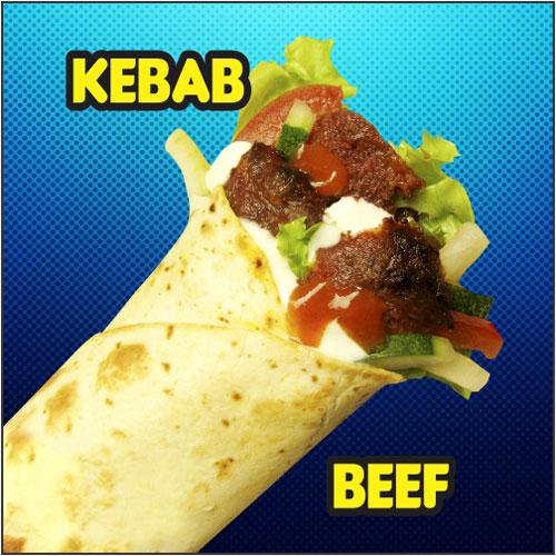 Kebab-Beef