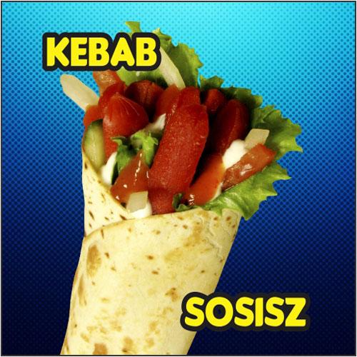 Kebab-Sosisz